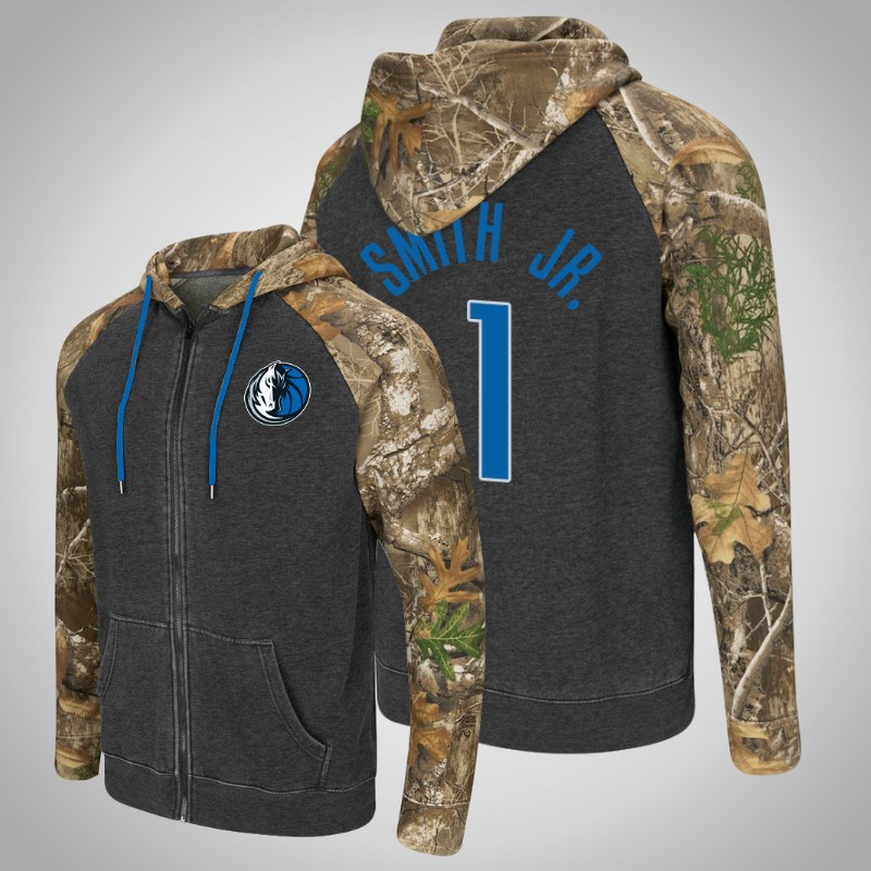 felpa Dallas Mavericks Dennis Smith Jr. 1 Realtree camo camuffare uomo