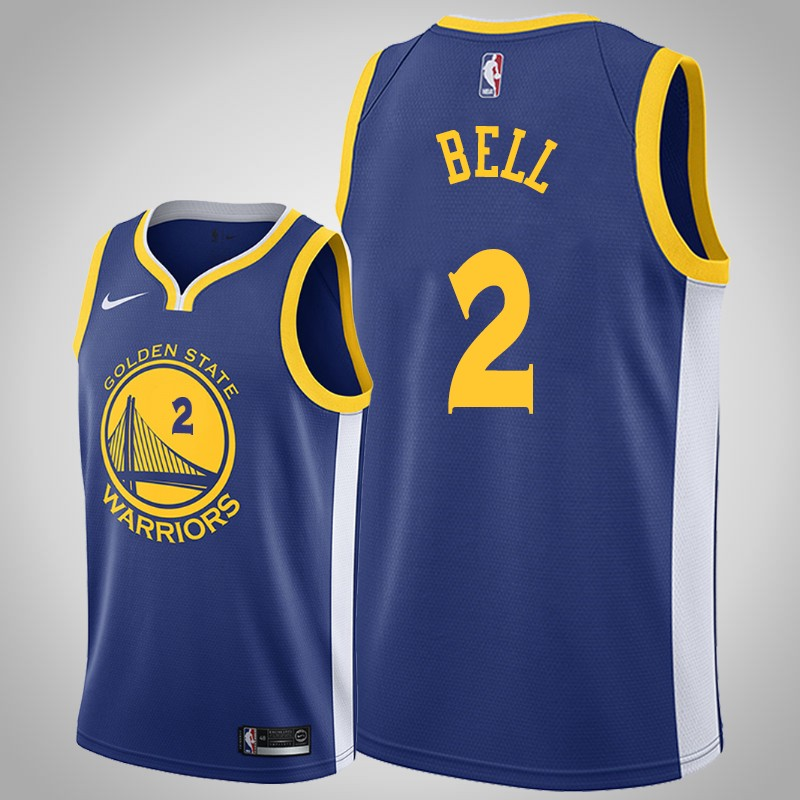maglia Golden State Warriors 2019-2020 Jordan bell 2 Icona reale uomo