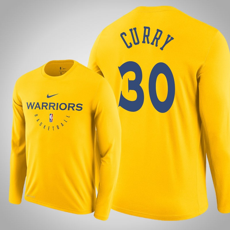 maglietta Golden State Warriors 2019-20 Stephen curry 30 Oro uomo