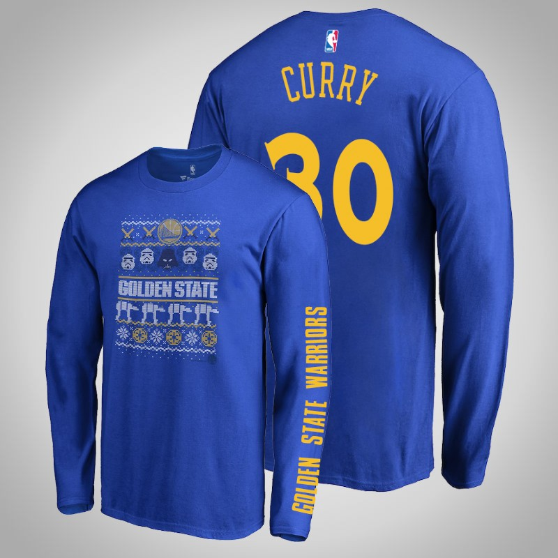 maglietta Golden State Warriors Stephen curry 30 Guerre stellari reale uomo