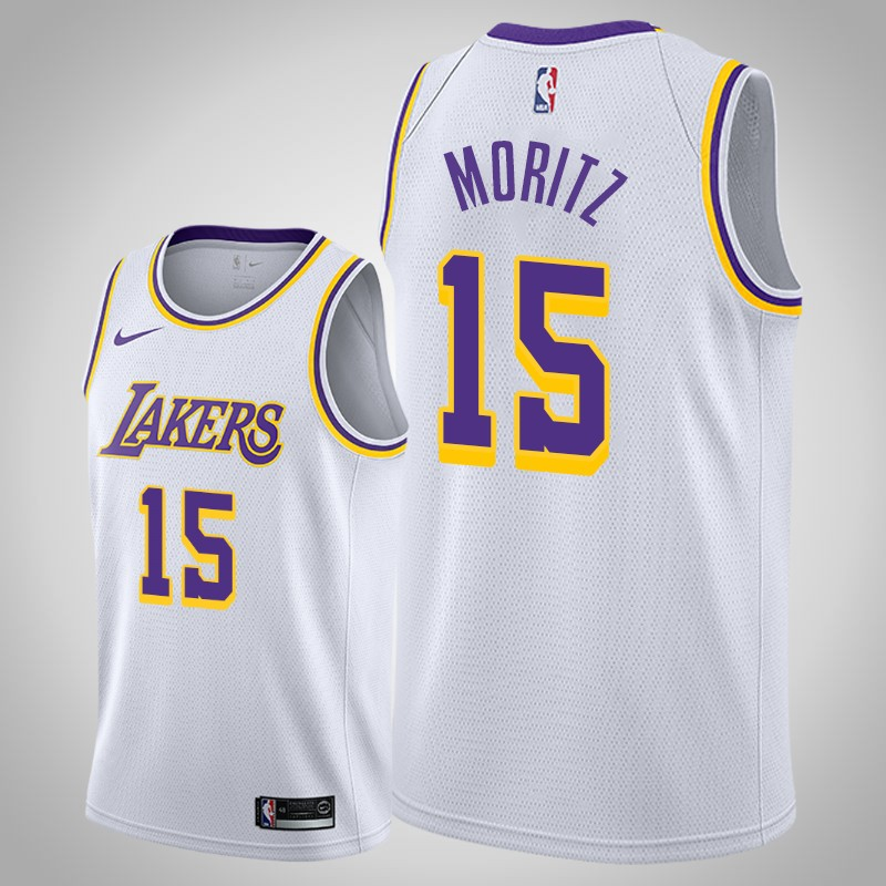 canotta Los angeles Lakers 2020 Wagner Moritz associazione bianca uomo
