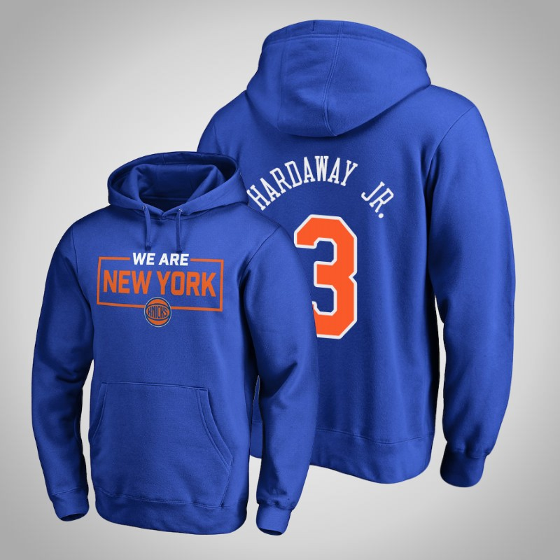 felpa New York Knicks 2018-19 Tim Hardaway Jr. 3 Iconic reale uomo
