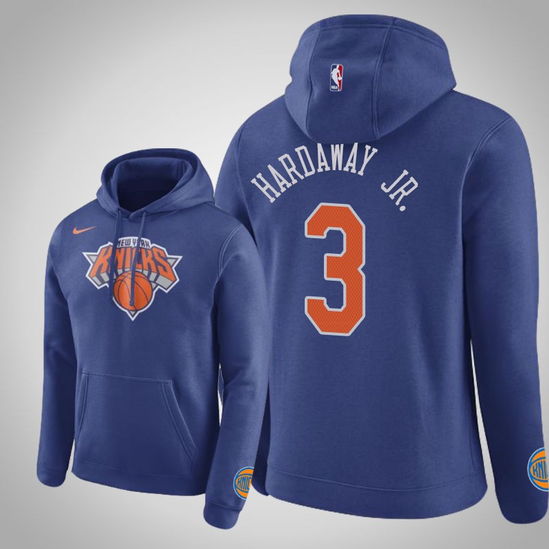 felpa New York Knicks 2019-20 Tim Hardaway Jr. 3 club reale uomo