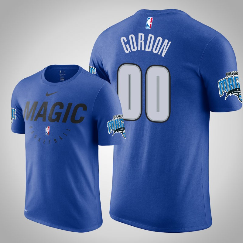 maglietta Orlando Magic 2018-2019 aaron Gordon 0 Legenda pratica reale uomo