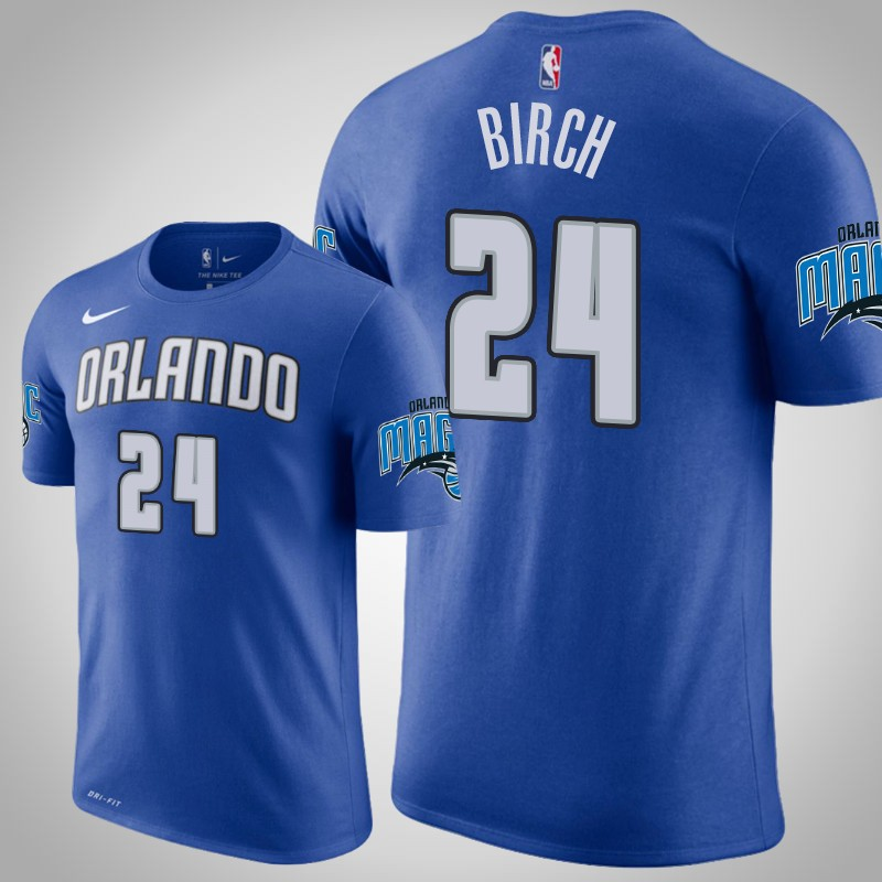 maglietta Orlando Magic 2018-2019 Khem birch 24 blu uomo