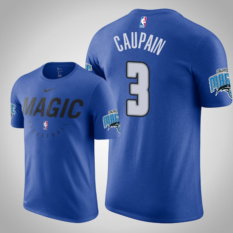 maglietta Orlando Magic 2019-2020 Troy caupain 3 Legenda pratica reale uomo